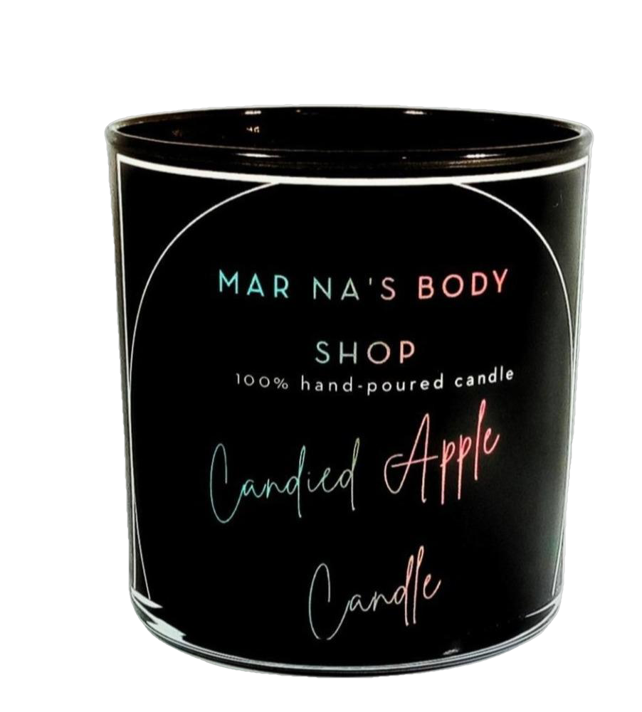 Candied Apple Candle