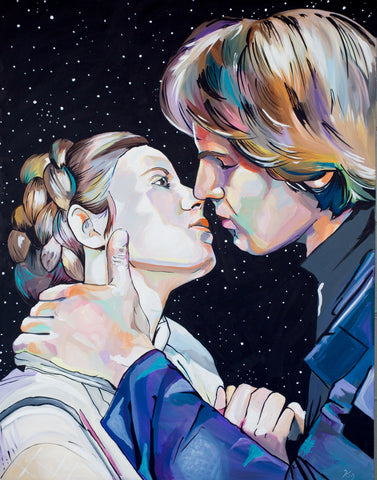 Han and Leia Print