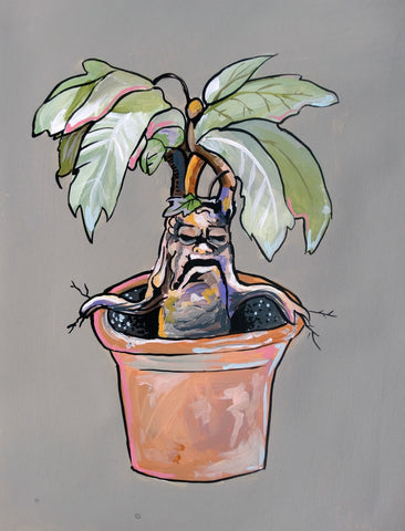 Screaming Mandrake Print