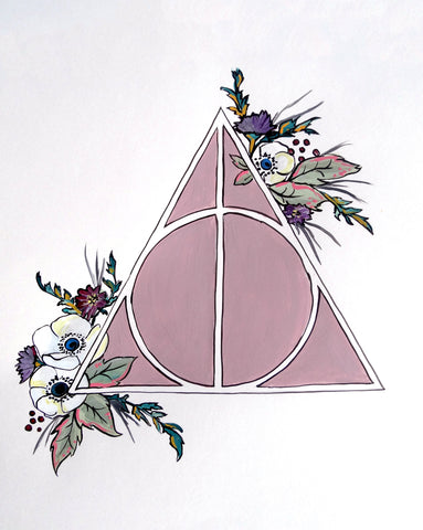 Deathly Hallows Print