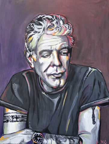 Anthony Bourdain Print
