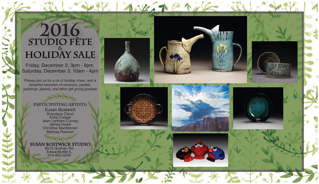 Susan Bostwick Studio Fête & Holiday Sale