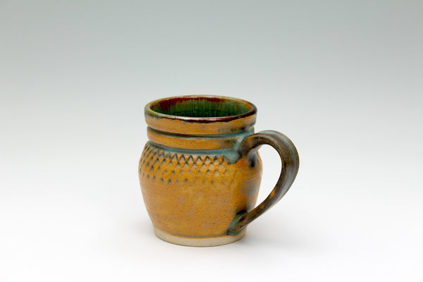 Brown Pattern Mug