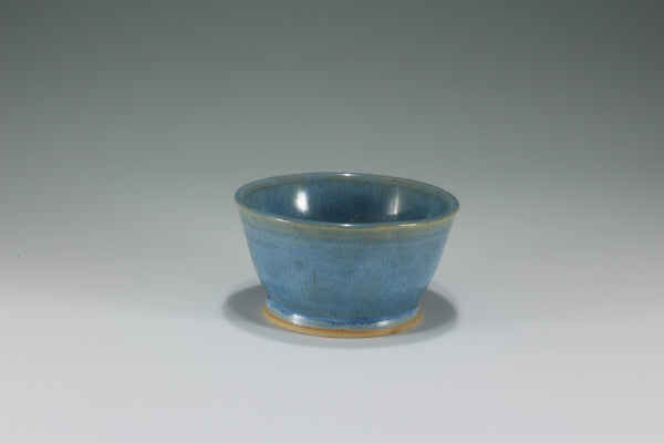 Small Blue Satin Bowl