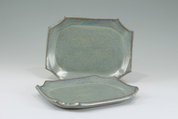 Small Plate - Speckled Blue