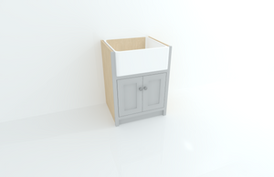680 Single Butler Sink Cabinet