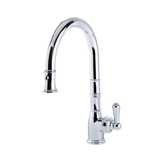 Aquitaine Sink Mixer with Single Lever and Pull Down