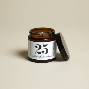 25 Days of December Jar Candle