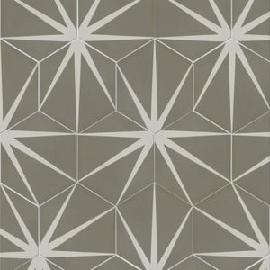 Lily Pad Clay Pattern Tile