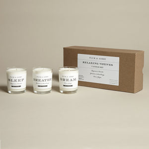 Relax Candles Votive Gift Set
