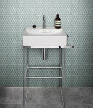 Load image into Gallery viewer, Yoga Penny Porcelain Mosaic Mint Green