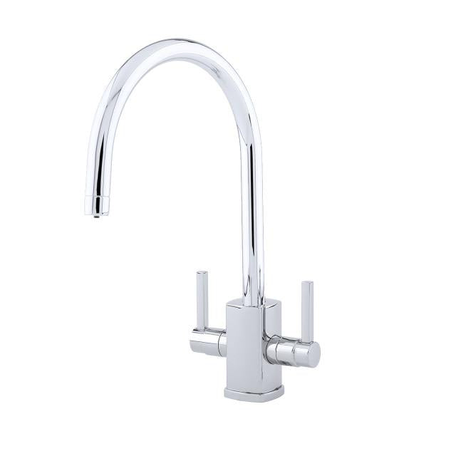 Rubiq Sink Mixer with 'C' Spout