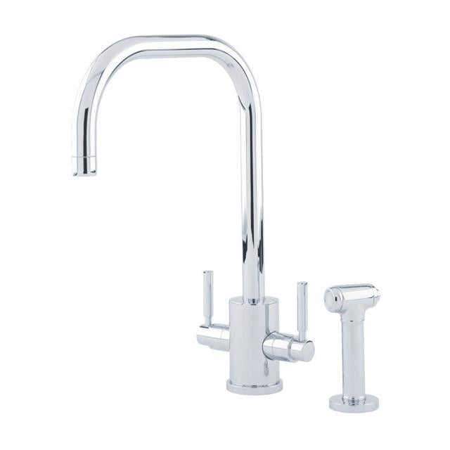 Orbiq Sink Mixer with 'U' Spout and Rinse