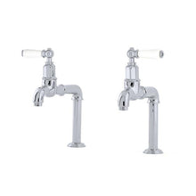 Load image into Gallery viewer, Mayan Deck Mounted Taps with Lever Handles and Rinse