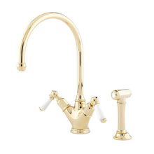 Load image into Gallery viewer, Minoan Sink Mixer with Lever Handles and Rinse