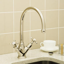Load image into Gallery viewer, Minoan Sink Mixer with Crosshead Handles