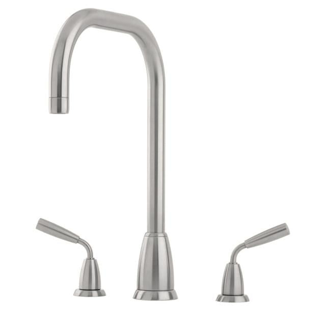 Titan Three Hole Sink Mixer with 'U' Spout