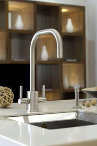 Rubiq Sink Mixer with 'U' Spout and Rinse