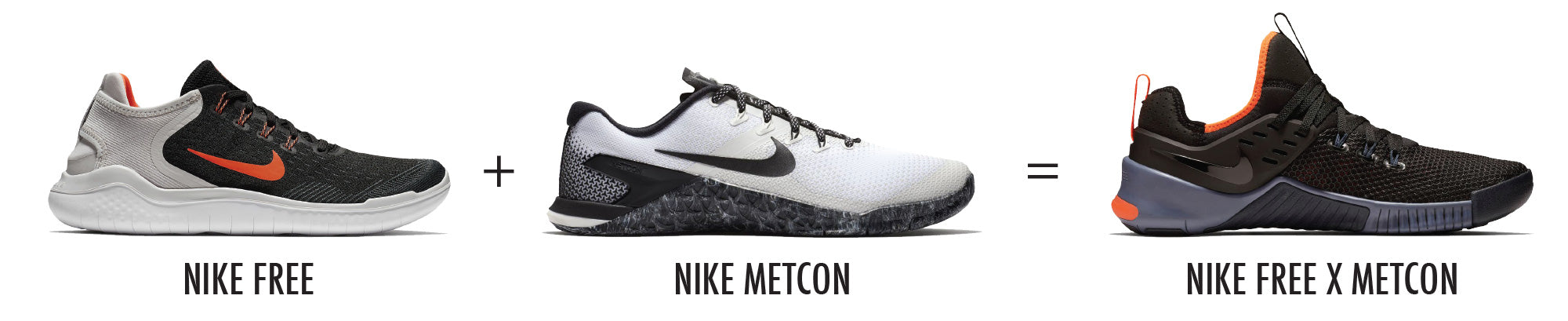 So whats different between the Nike Metcon and the Free X Metcon  For  starters 976555899