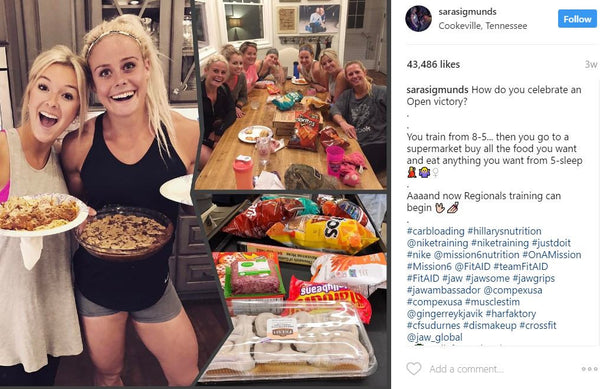 What The Fittest On Earth Eat 14 Meals From Crossfit