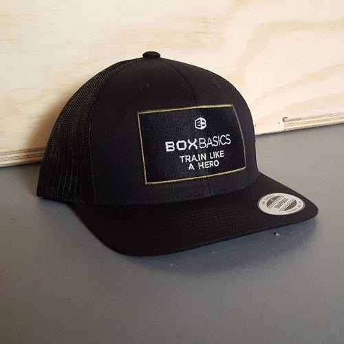 Box Basics Train Like a Hero Trucker Hat