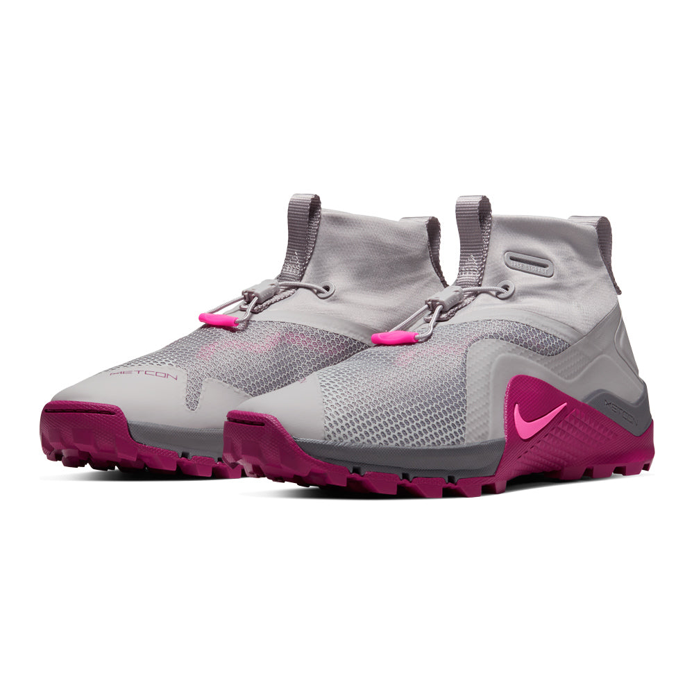 Women's Nike Metcon X SFB, nike, metcon, sfb, ocr, obstacle, course, race, spartan, tough, mudder, new, style, crossfit, color, grey, berry, pink, special, forces, boot, waterproof