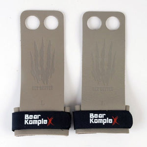 Load image into Gallery viewer, Bear KompleX 2 Hole Hand Grips - Grey