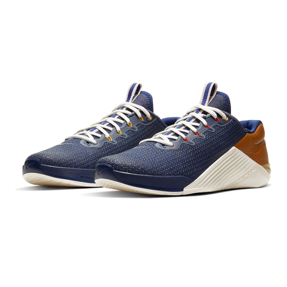 Men's Nike Metcon 5, men, nike, metcon, 5, crossfit, gym, workout, training, shoe, color, style, usa, america, americana, leather, denim, work wear, special, limited, edition