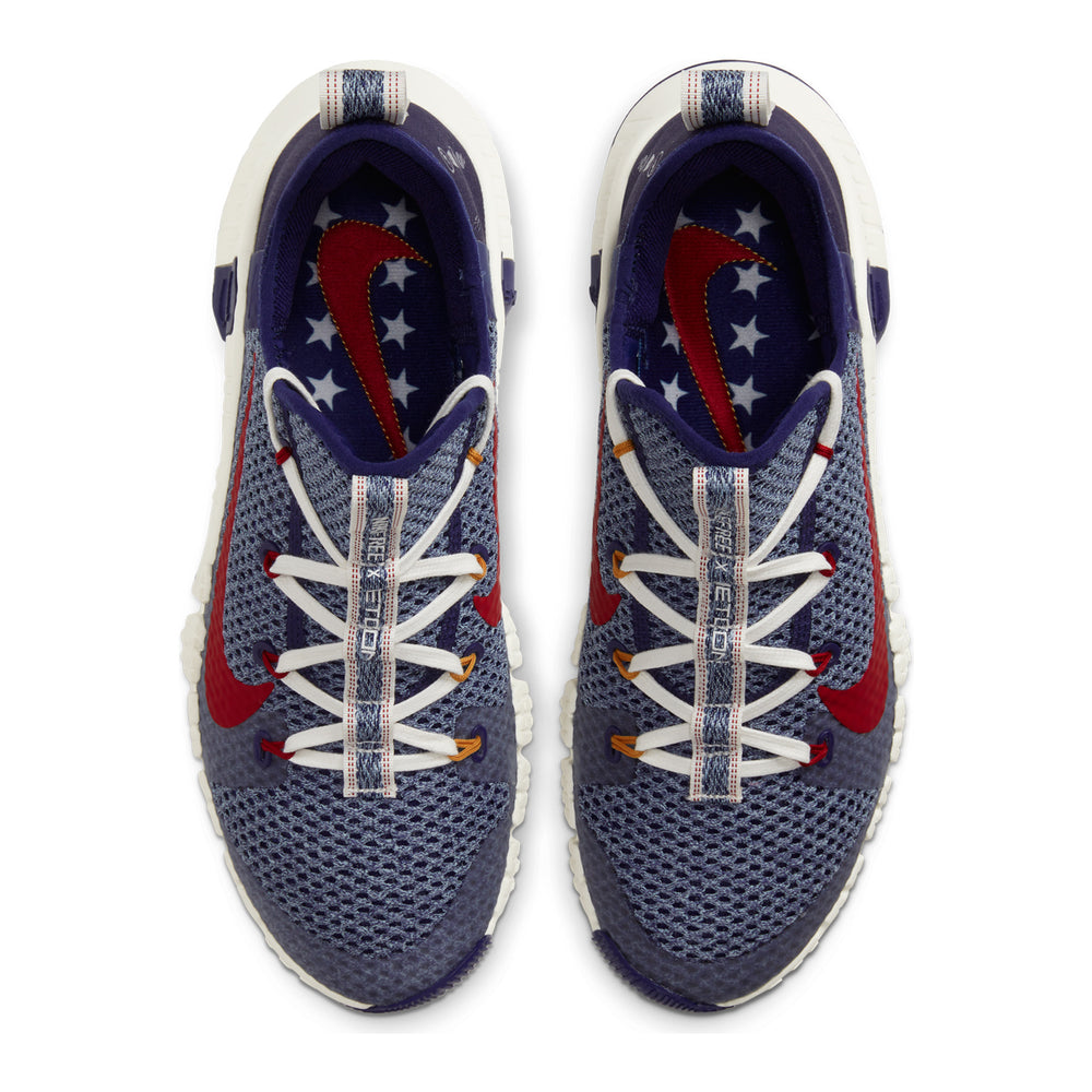 Men's Nike Free Metcon 3, men, nike, free, metcon, 3, new, crossfit, workout, gym, training, shoe, color, usa, america, americana, flag, work, wear, red, white, blue, denim