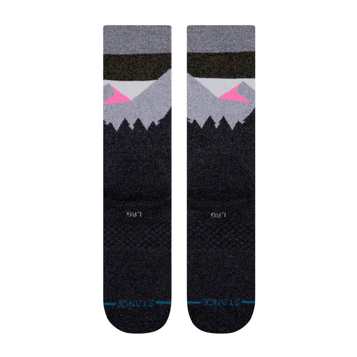 Women's Stance HIKING Divide Street Crew Socks