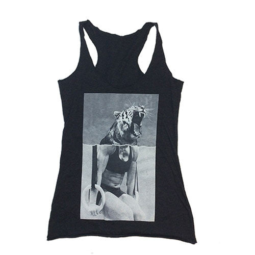 Women's Be A Beast Tank - Charcoal