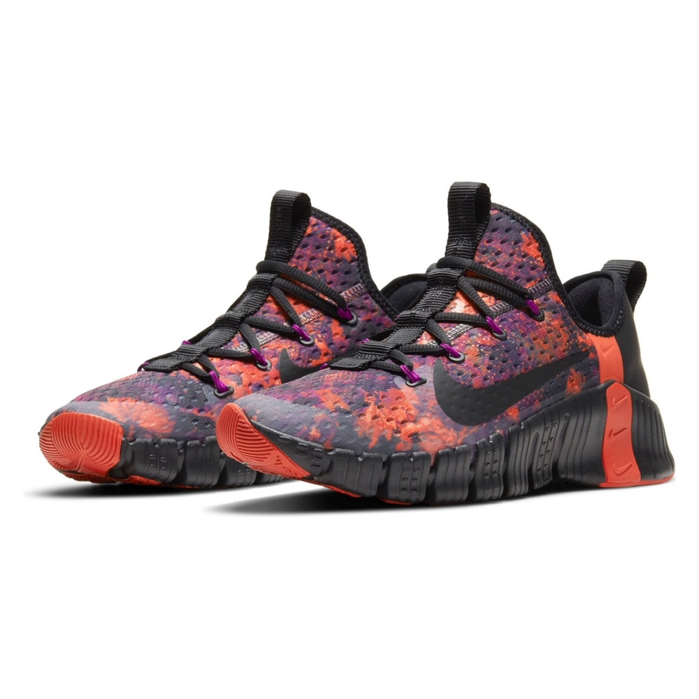 Men's Nike Free Metcon 3, men, nike, free, metcon, 3, new, crossfit, workout, gym, training, shoe, color, martian sunrise, black, red, plum
