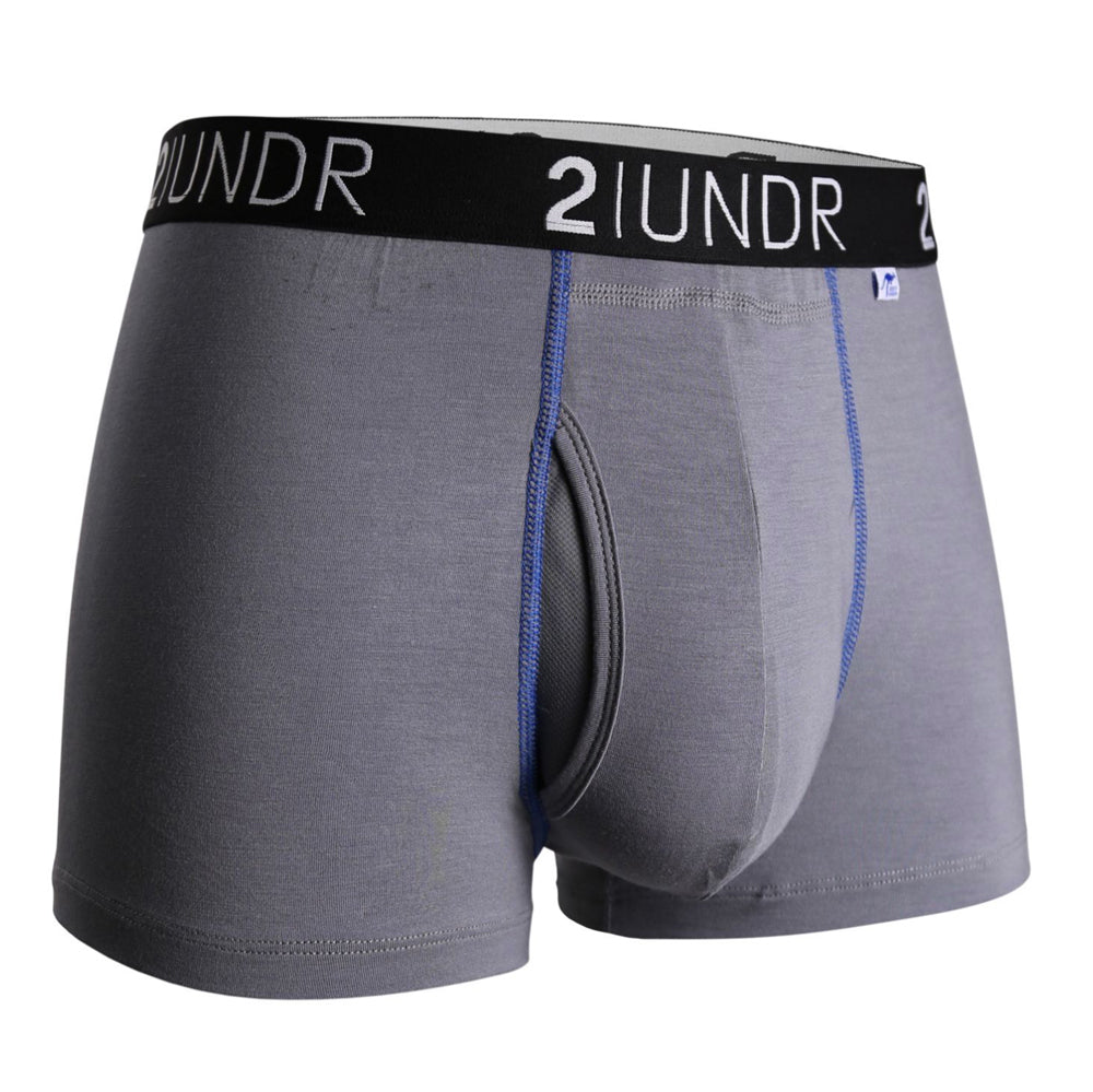 "Load image into Gallery viewer, Men's 2UNDR Swing Shift 3"" Trunks"