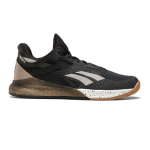 Women's Reebok Nano X, women, reebok, crossfit, nano, x, gym, workout, training, shoe, new, color, black, moondust, chalk