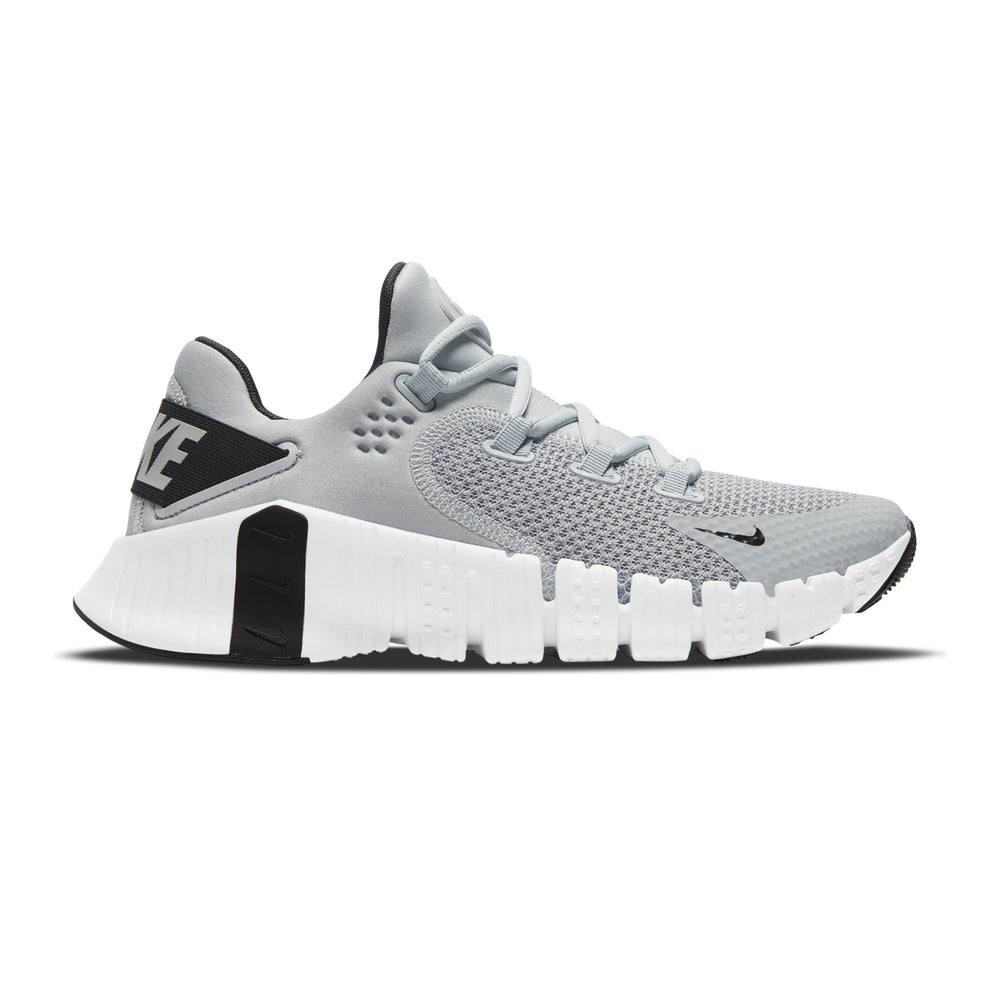 Men's Nike Free Metcon 4, men, nike, free, metcon, 4, gym, workout, training, crossfit, shoe, new, style, color, light, grey, white