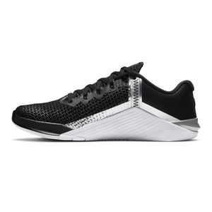 Women's Nike Metcon 6 , women, nike, metcon, 6, crossfit, gym, workout, training, shoe, color, style, black, white, silver