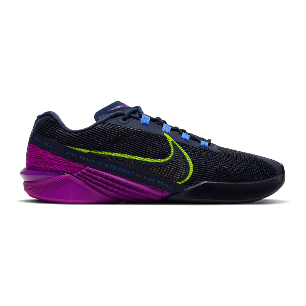Women's Nike React Metcon Turbo, react, women, nike, metcon, turbo, new, crossfit, workout, gym, training, shoe, style, color, black, purple, blue