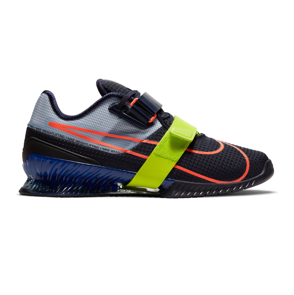 Nike Romaleos 4, nike, romaleos, 4, weightlifting, crossfit, gym, shoe, color, new, black, blue, royal, mango, yellow, grey