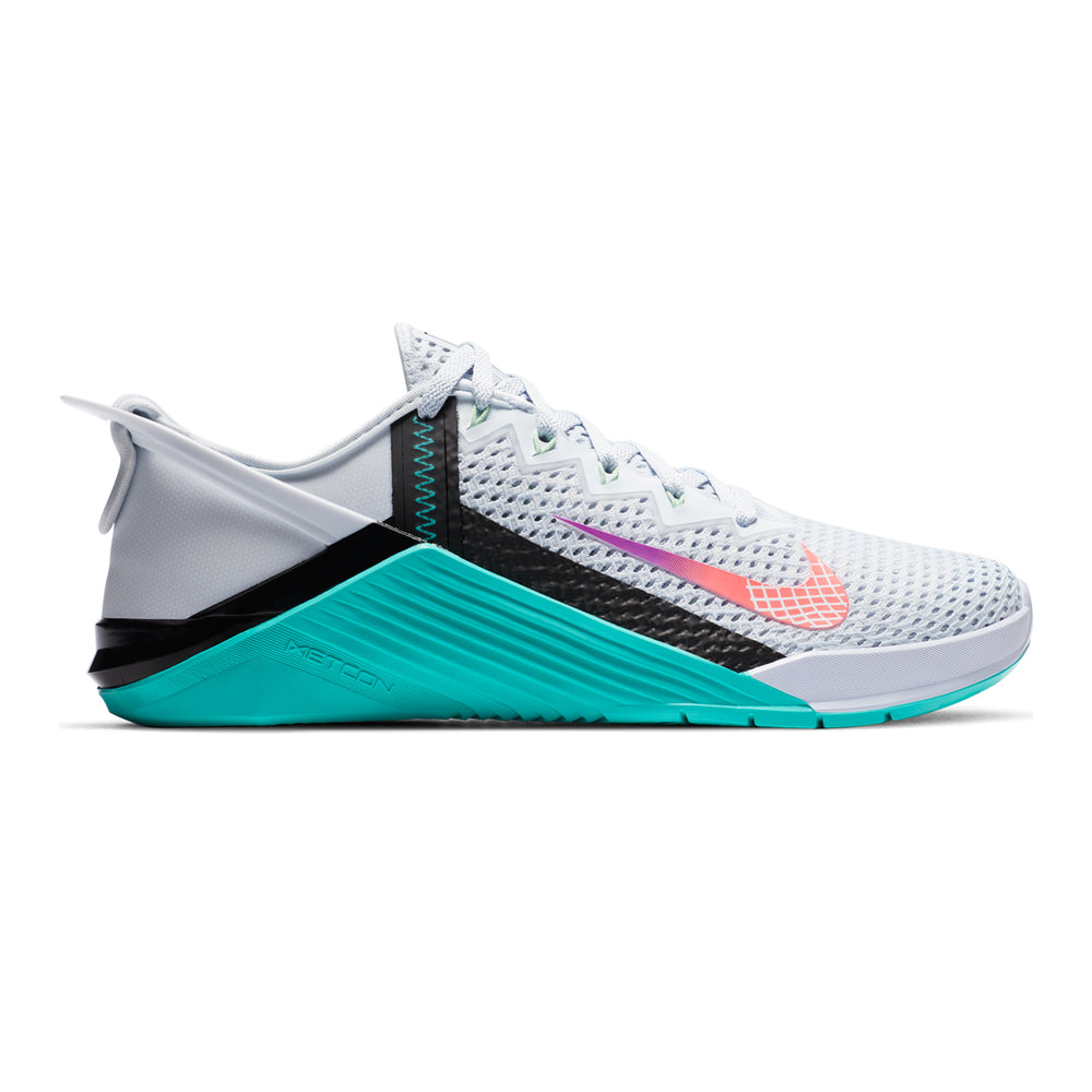Men's Nike Metcon 6 FlyEase, FlyEase, men, nike, metcon, 6, crossfit, gym, workout, training, shoe, color, style, White, Flash Crimson, Hyper Jade, Hyper Violet, Olympic, Tokyo