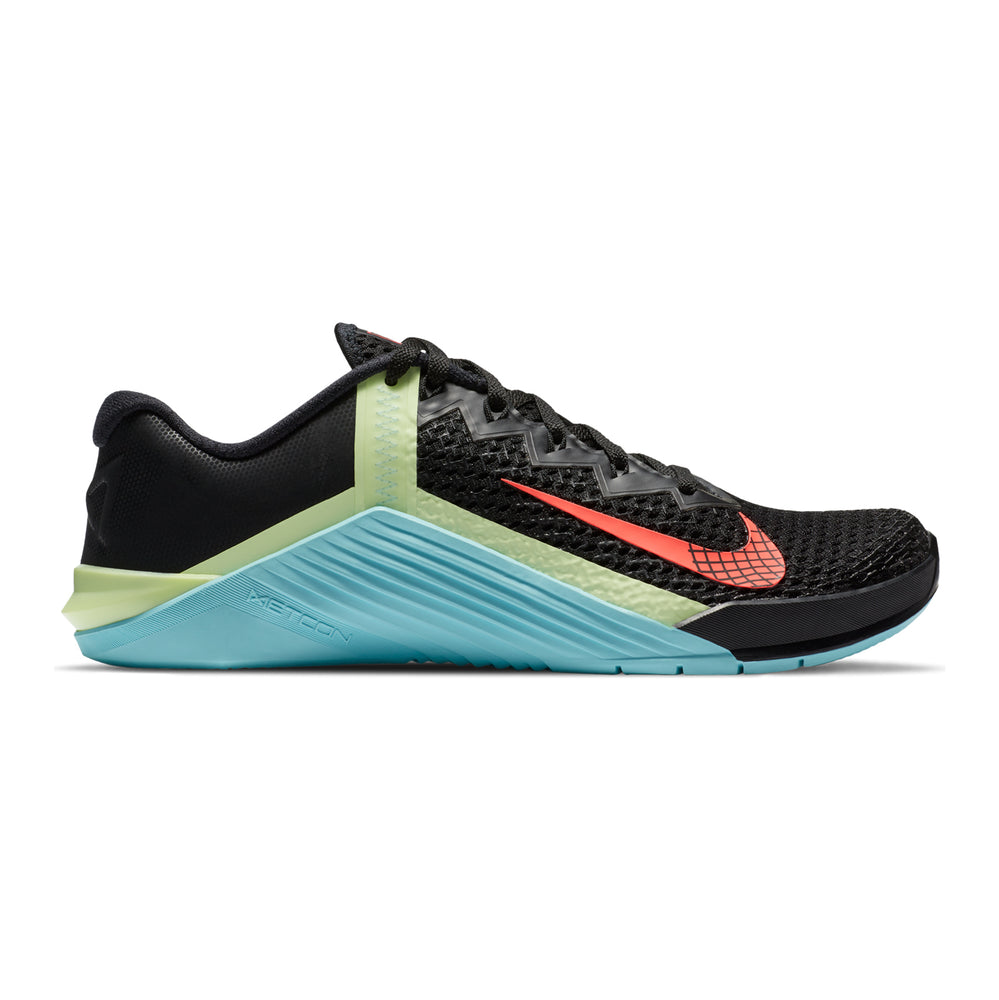 Women's Nike Metcon 6 , women, nike, metcon, 6, crossfit, gym, workout, training, shoe, color, style, black, glacier, ice, blue
