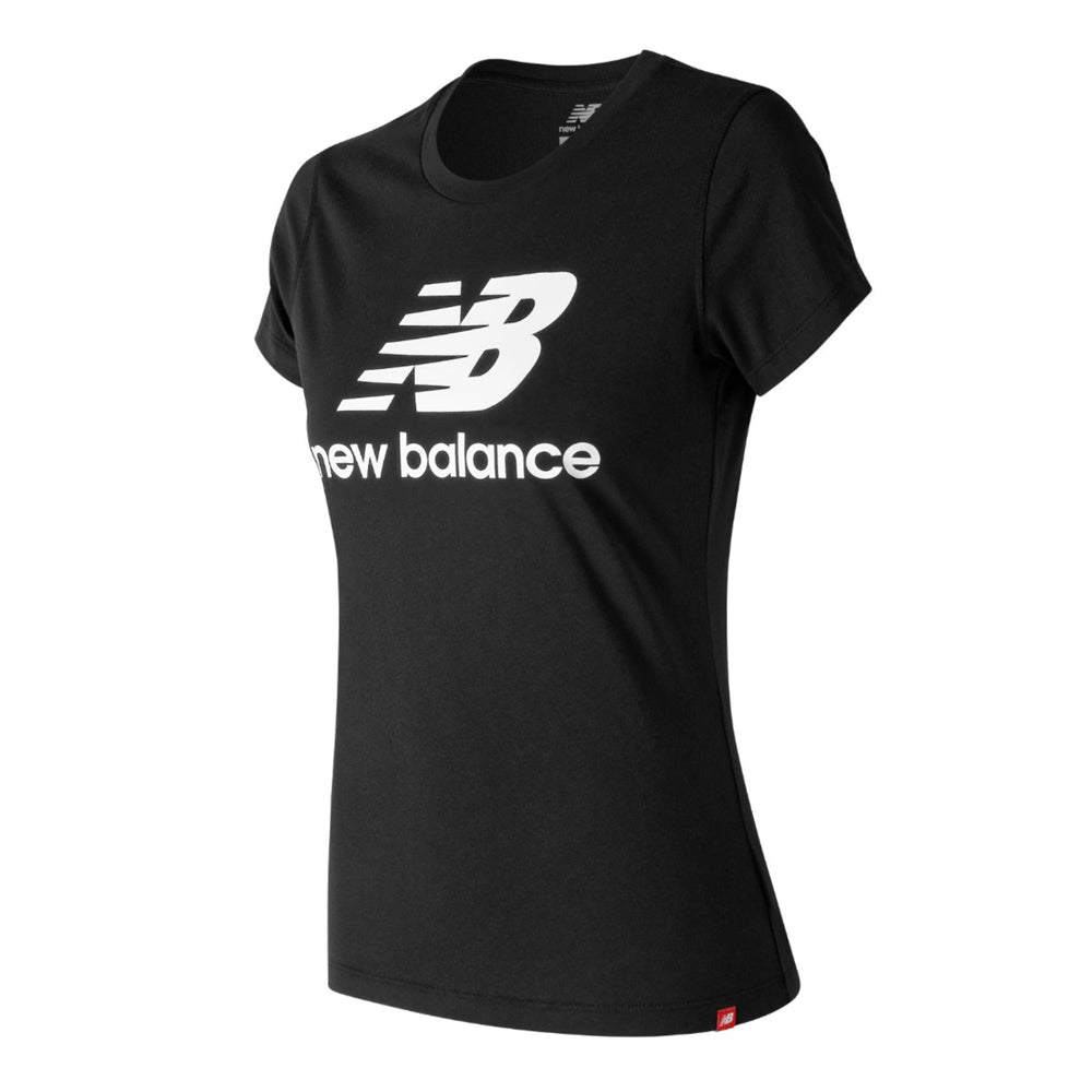 Load image into Gallery viewer, Women's New Balance Essentials Stacked Logo Tee