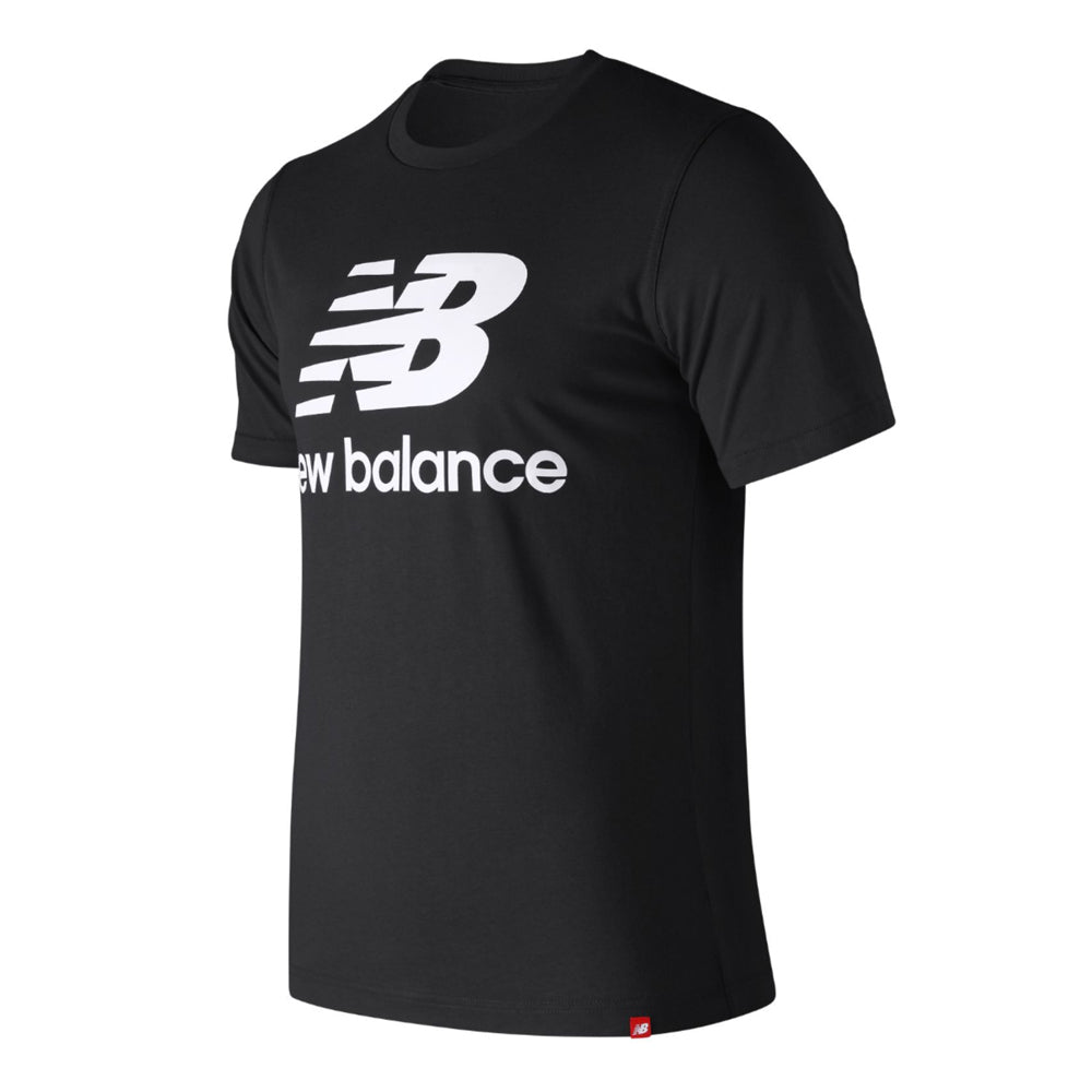 Load image into Gallery viewer, Men's New Balance Essentials Stacked Logo Tee