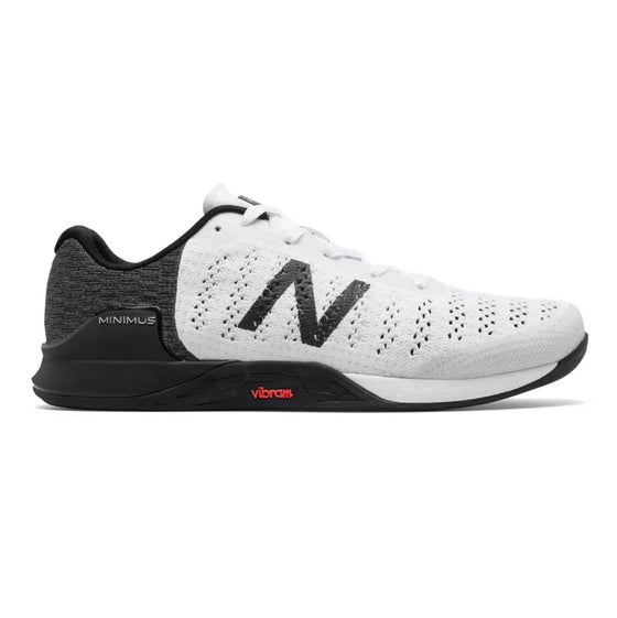 Men's New Balance Minimus Prevail, men, new balance, minimus, prevail, crossfit, training, gym, workout, shoe, new, style, color, white, red, black