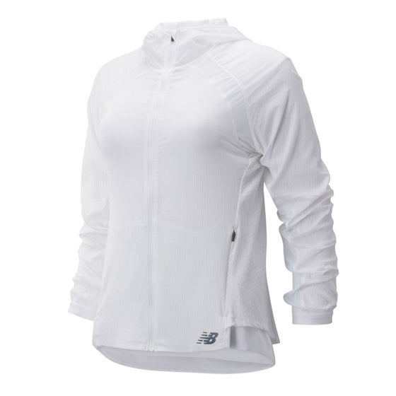 Women's New Balance Q Speed Run Crew Jacket