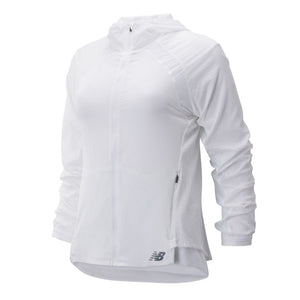 Load image into Gallery viewer, Women's New Balance Q Speed Run Crew Jacket