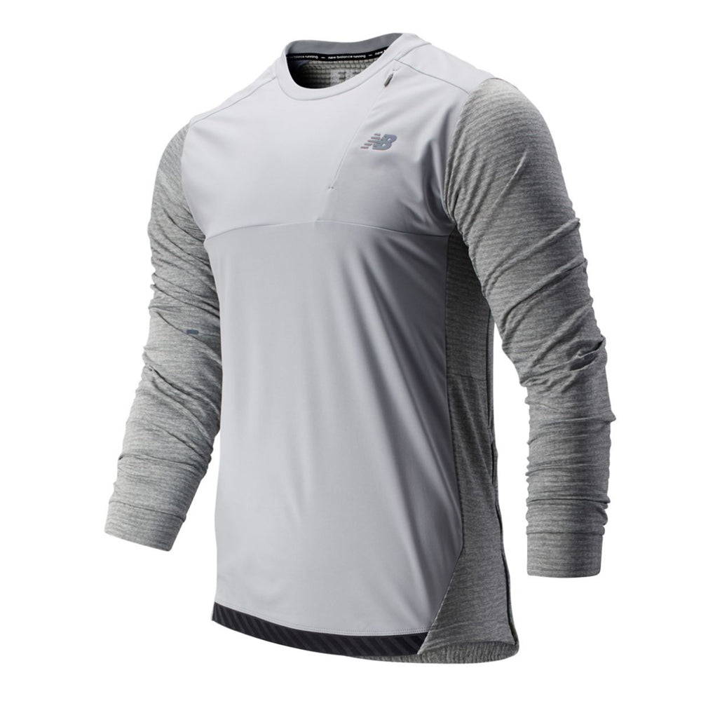 Men's New Balance Q Speed Run Crew Pullover