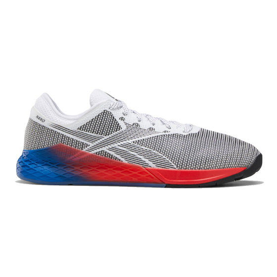 Men's Reebok CrossFit Nano 9 Fade, men, reebok, crossfit, nano, 9, fade, gym, workout, training, shoe, new color, style, grey, red, white, blue