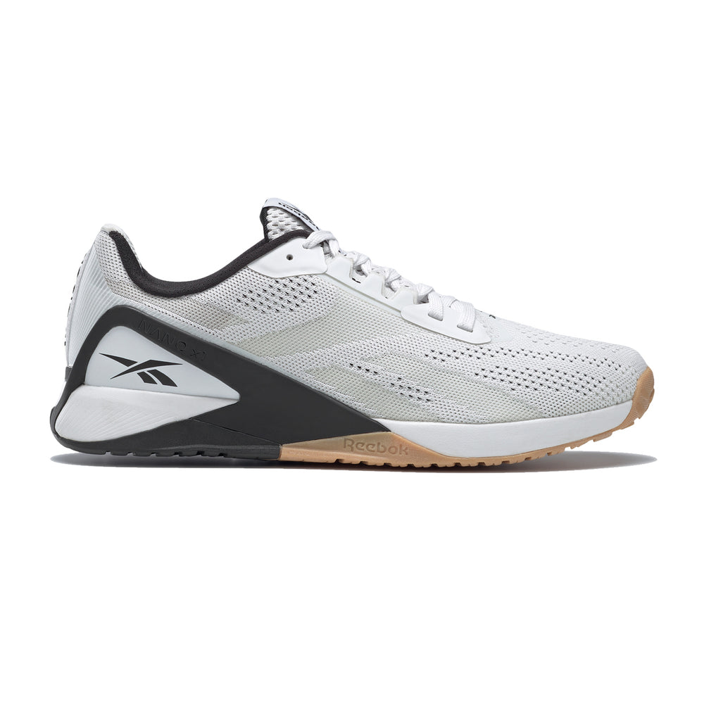 Men's Reebok Nano X1, men, reebok, nano, x1, crossfit, gym, training, workout, new, color, style, white, black, gum