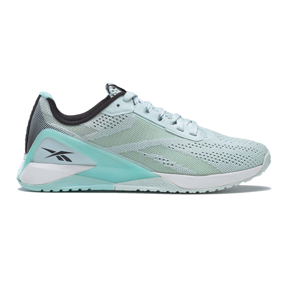 Women's Reebok Nano X1, women, reebok, nano, x1, crossfit, gym, workout, training, shoe, new, color, style, blue, grey, white