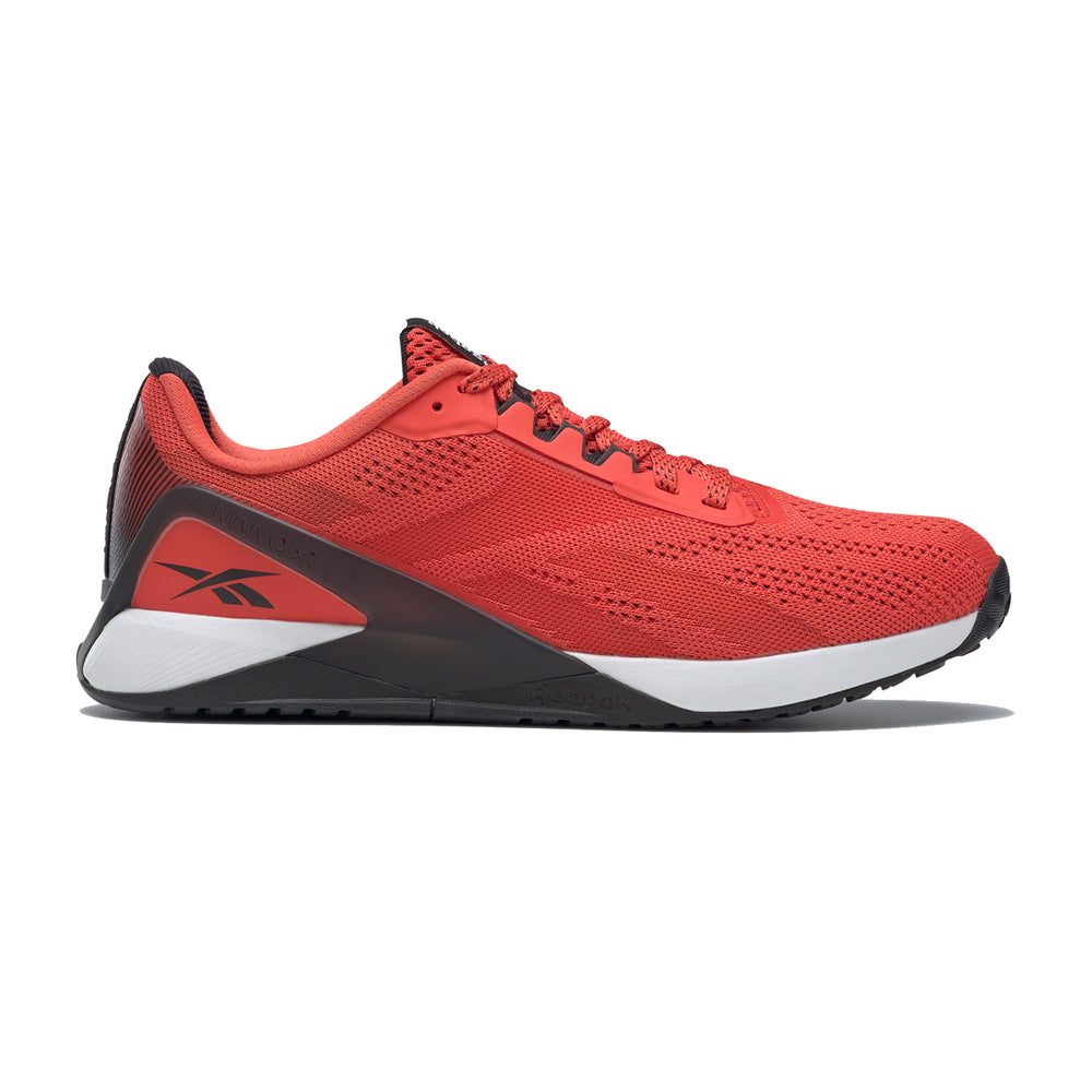 Men's Reebok Nano X1, men, reebok, nano, x1, crossfit, gym, training, workout, shoe, new, style, color, red, black, white